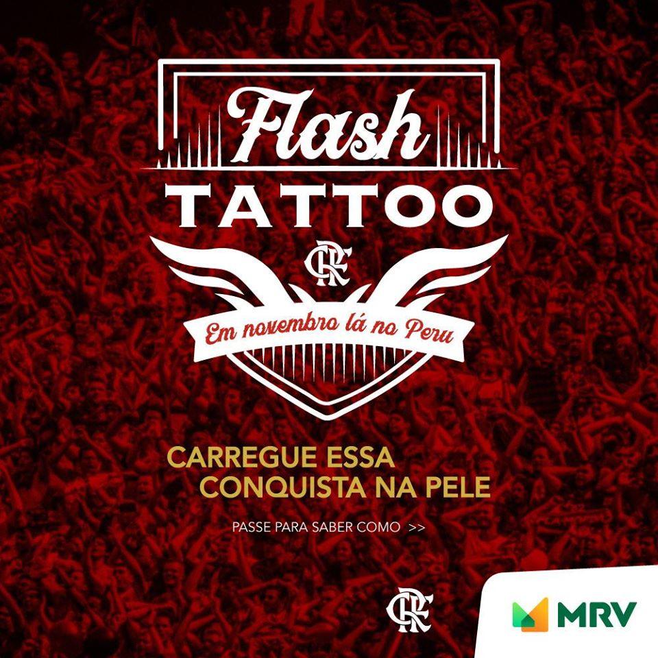 Flamengo E Mrv Farão 200 Tatuagens Gratuitas Amanhã Na Gávea